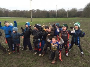 LittleLeosLions - 1st game 2016 U7's