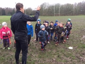 LittleLeosLions - 1st game 2016 U7's led by Mark